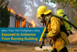 Austin, Texas firefighters asbestos exposure