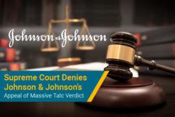 Johnson & Johnson Supreme Court ruling in talc verdict