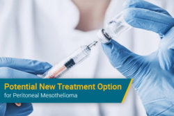 new injection chemotherapy drug for peritoneal mesothelioma cancer