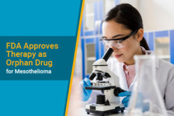 lab review of orphan drug treatment for mesothelioma
