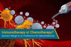 immunotherapy or chemotherapy for mesothelioma