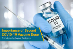 second COVID-19 vaccine shot for mesothelioma patients
