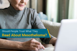 misinformation about mesothelioma online