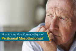 peritoneal mesothelioma signs for patient