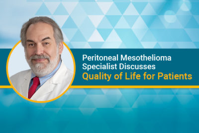 peritoneal mesothelioma doctor edward levine discusses quality of life