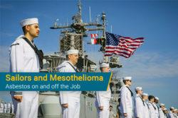 U.S. sailors on ship